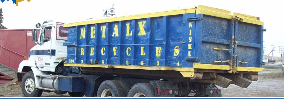Metalex Recycling truck