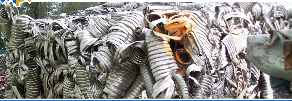 Compressed scrap metal